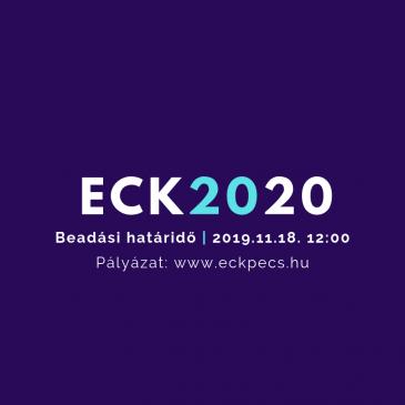 Novemberig lehet pályázni az ECK2020 programba
