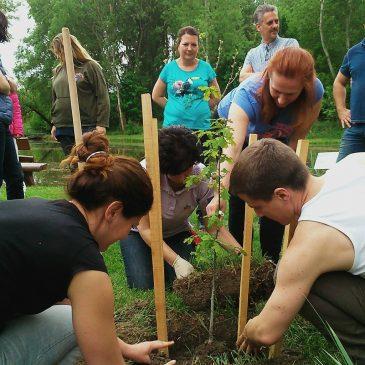 Környezetünk védelméért dolgozik a szedresi közösség